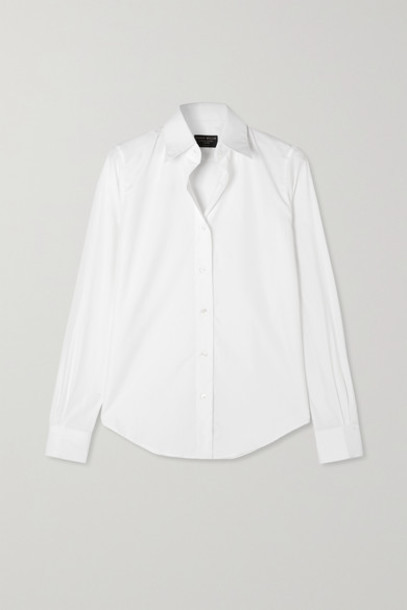 Emma Willis - Net Sustain Cotton-poplin Shirt - White