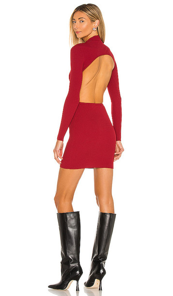 Michael Costello x REVOLVE Arles Dress in Red