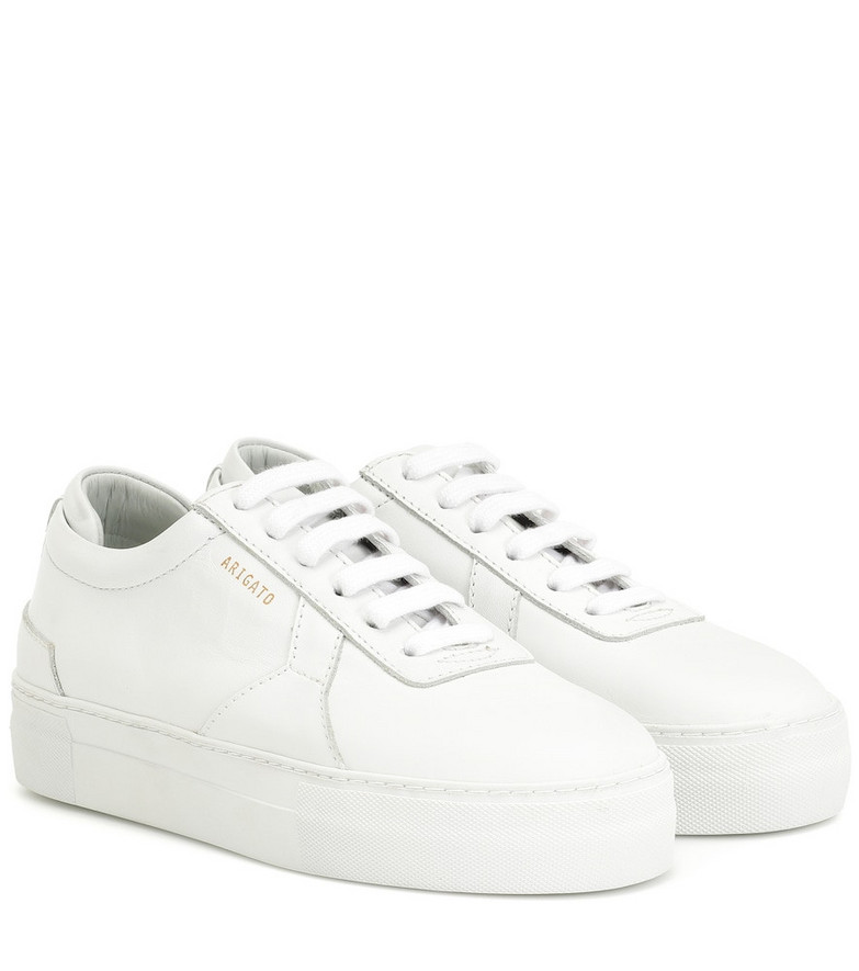Axel Arigato Platform leather sneakers in white