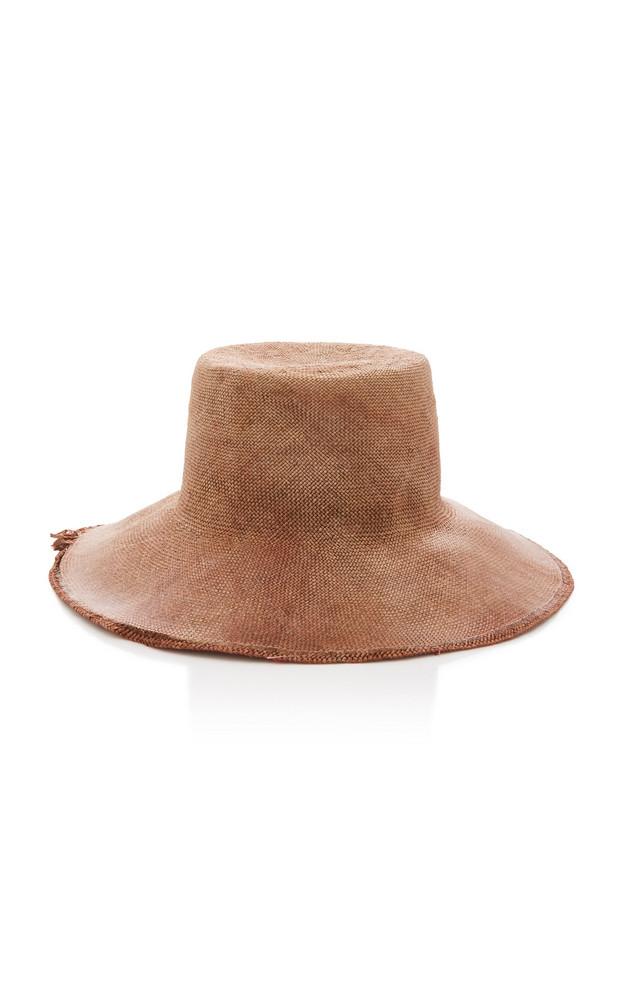 Reinhard Plank Strega P Woven Hat Size: S in brown