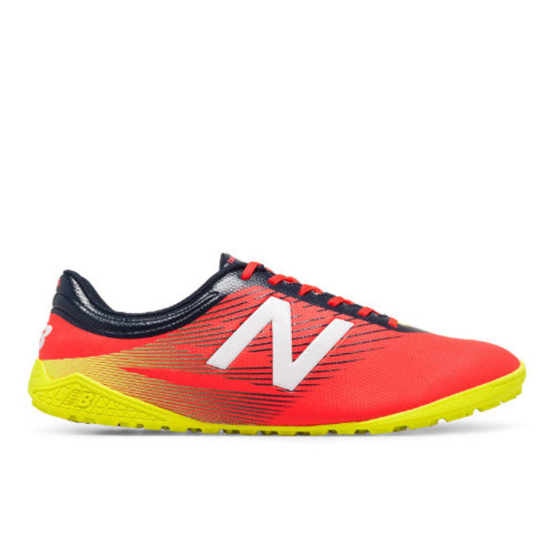 New Balance Furon 2.0 Dispatch TF Men's Soccer Shoes - Red/Navy/Yellow (MSFUDTCG)