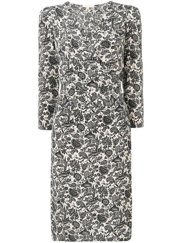 Vanessa Bruno floral print dress in neutrals