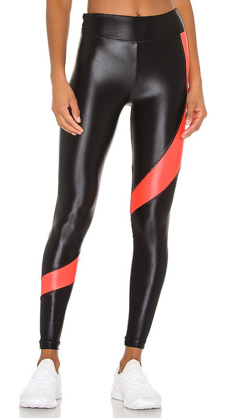 KORAL Pista Infinity High Rise Legging in Black