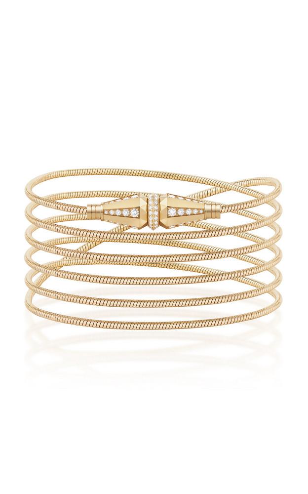 Boucheron Jack de Boucheron Convertible Long Necklace/ Multi Wrap Bracelet with Diamonds in gold