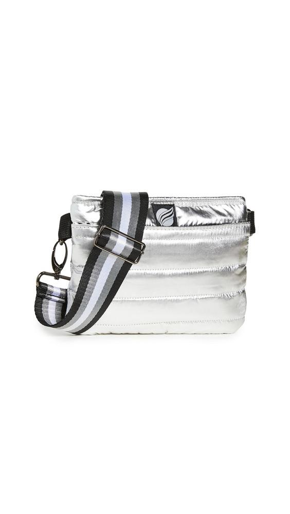 Think Royln Convertible Belt Crossbody Bag in silver