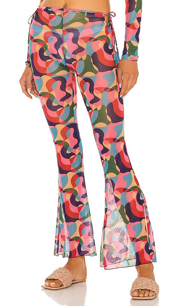 lovewave The Cece Pant in Pink in multi