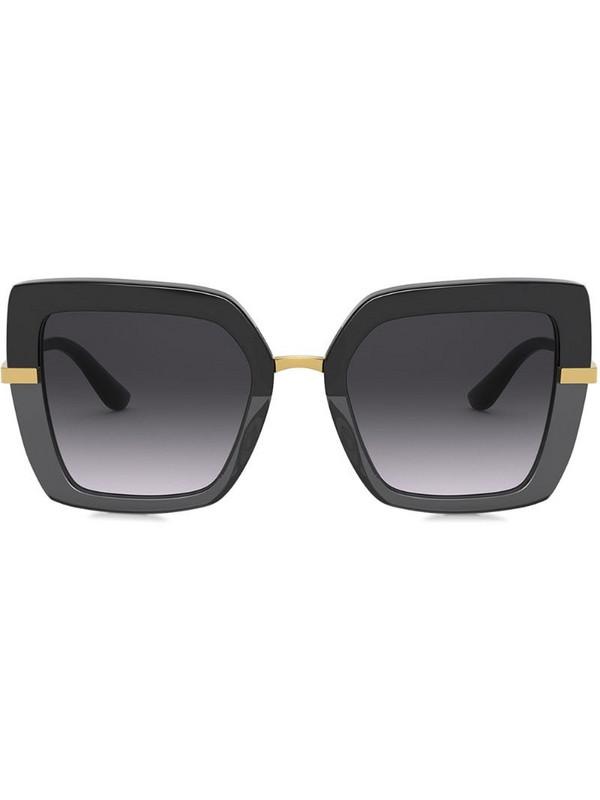 Dolce & Gabbana Eyewear square-frame sunglasses in black