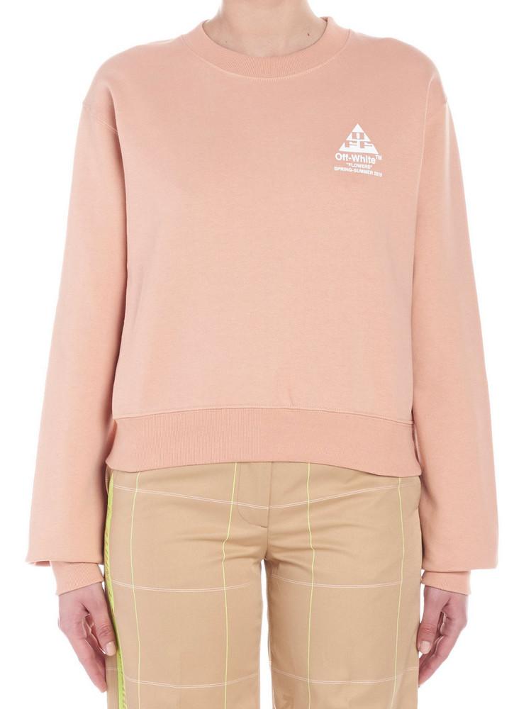 Off-white Sweatshirt in pink