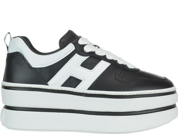 Hogan H449 Sneakers in black