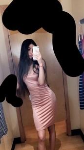 dress,blush,pink,velvet