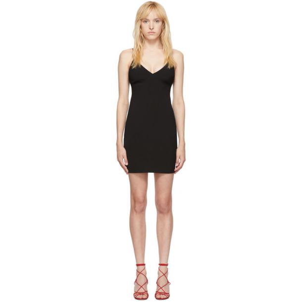 alexanderwang.t Black Wash and Go Mini Dress