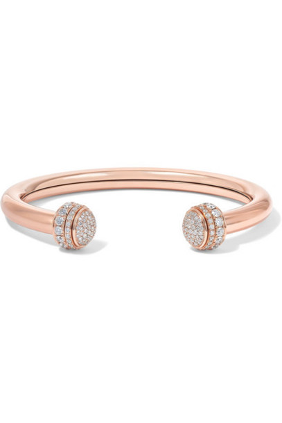 Piaget - Possession 18-karat Rose Gold Diamond Cuff