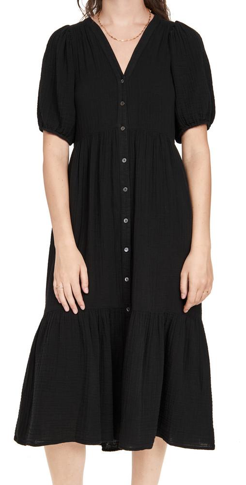 XIRENA Lennox Dress in black