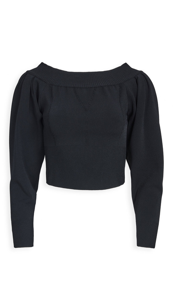 TRE by Natalie Ratabesi The Meteorite Sweater in black