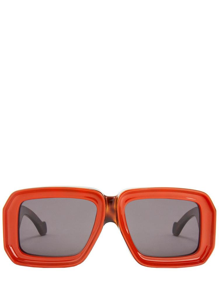 LOEWE Paula's Dive In Mask Acetate Sunglasses in multi