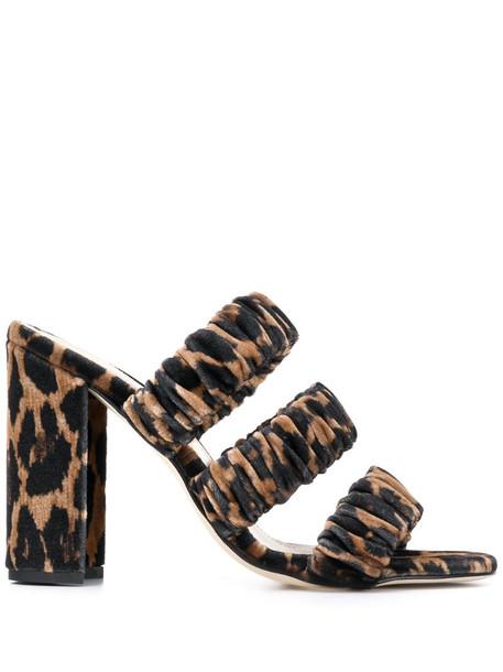 Chloe Gosselin heeled sandals in black