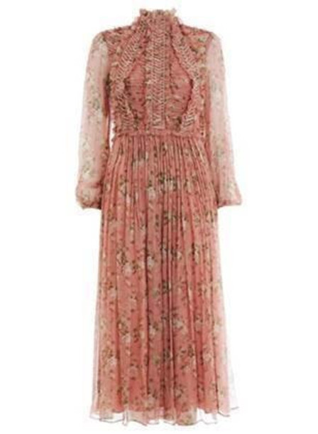 Zimmermann Espionage Laced Ring Dress