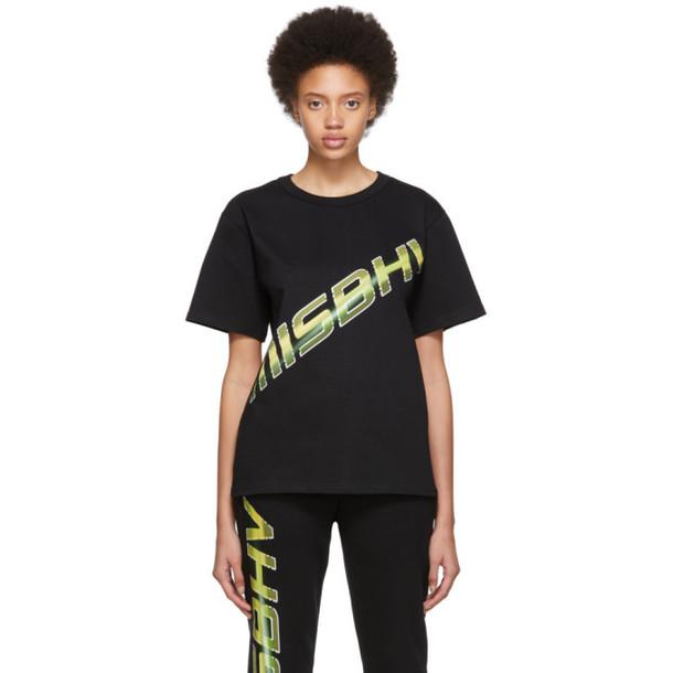 MISBHV Black Space Logo T-Shirt