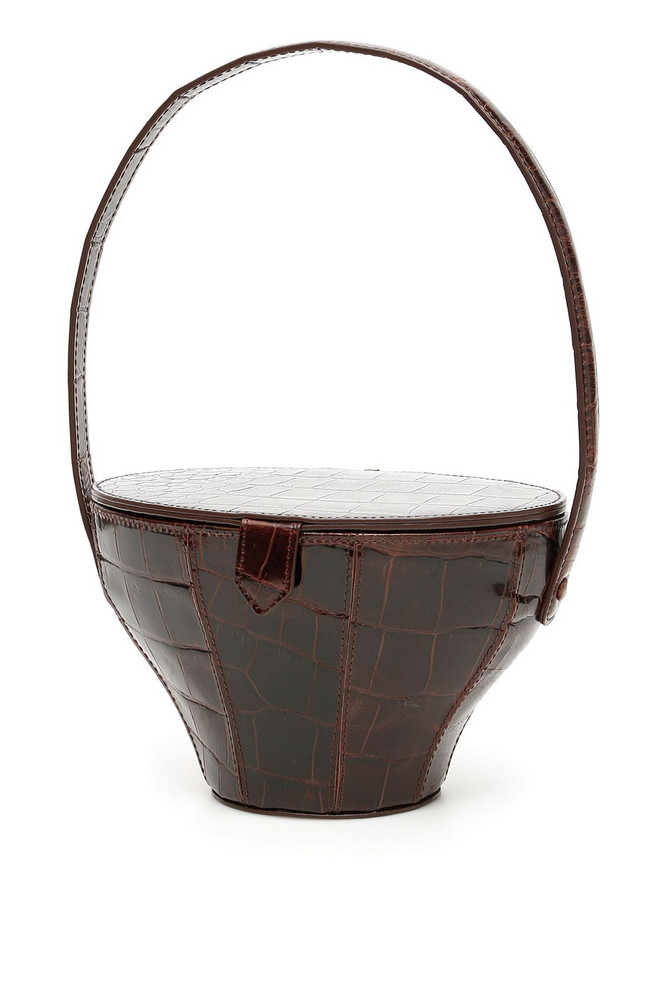 STAUD Alice Bucket Bag in brown