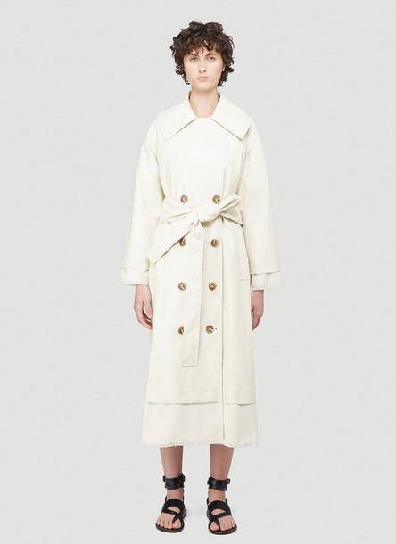 Rejina Pyo Gladys Trench Coat in White size XS