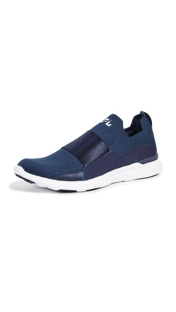 APL: Athletic Propulsion Labs TechLoom Bliss Sneakers in navy / white