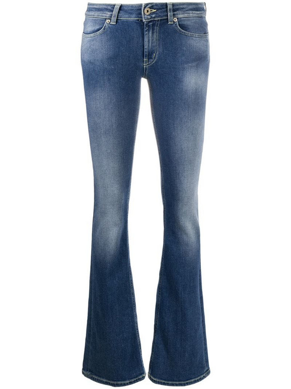 Dondup washed finish jeans in blue