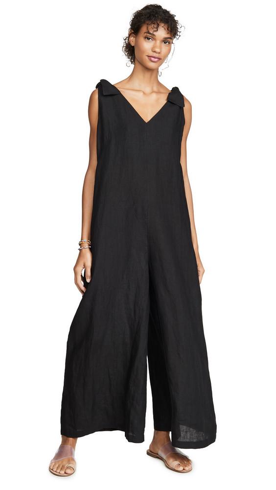 Vitamin A Marina Jumpsuit in black