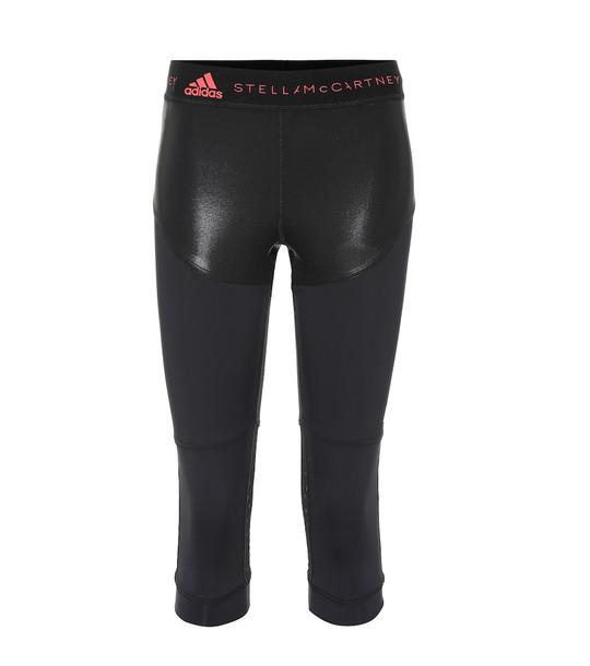 Adidas by Stella McCartney Run 3/4 cropped leggings in black