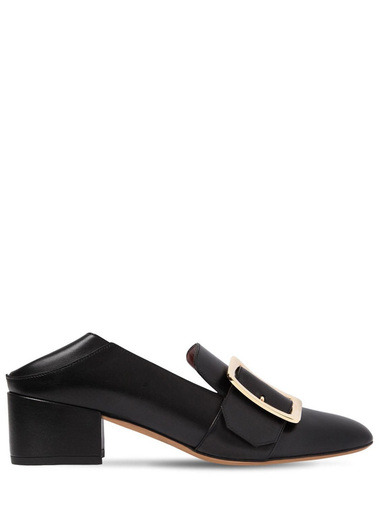 BALLY 40mm Janelle Leather Pumps in black
