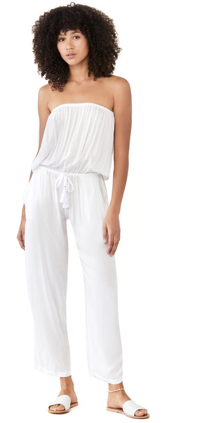 TIARE HAWAII Jenny Jumpsuit in white