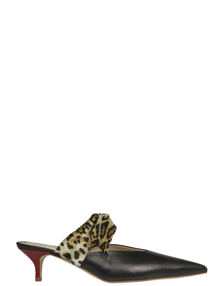 Gia Couture Bandana Girl Sandals in black
