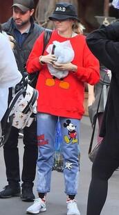 jeans,sweatshirt,sweater,miley cyrus,celebrity,casual,denim