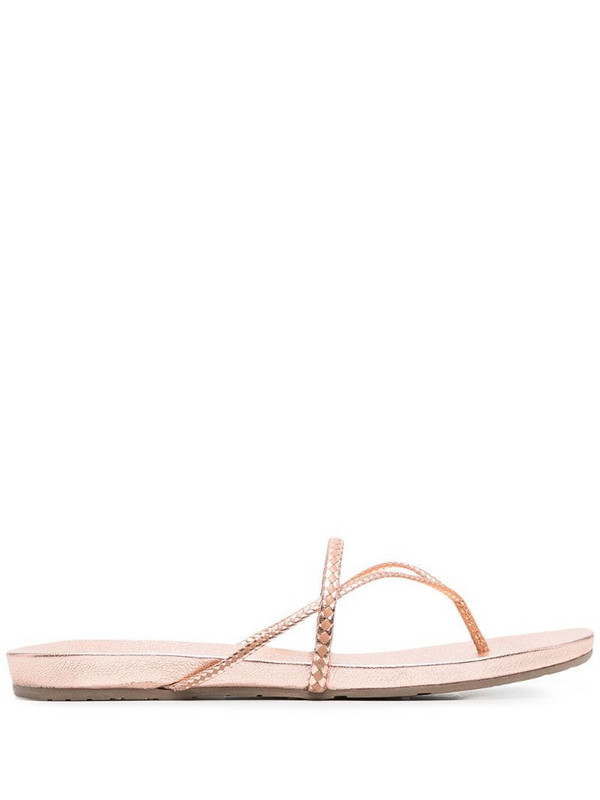 Pedro Garcia strappy leather sandals in pink