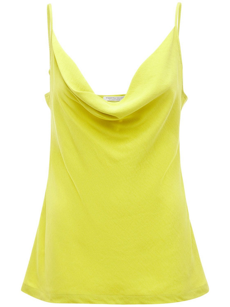 UNDERPROTECTION Sally Tencel Top in yellow