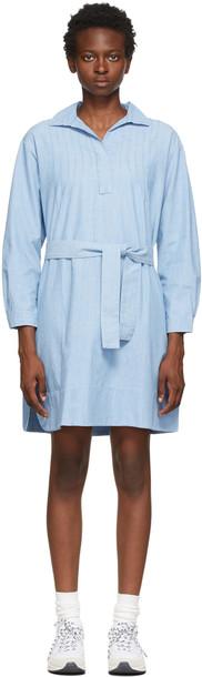 A.P.C. A.P.C. Blue Melissa Dress