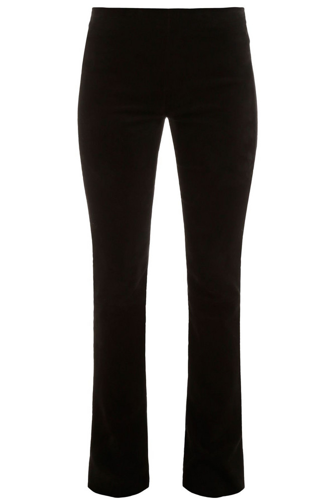 DROMe Suede Trousers in black