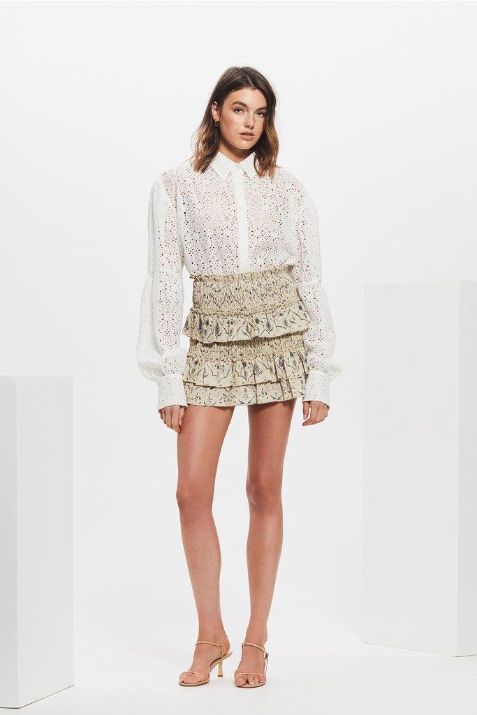 AMELIE EMBROIDERED SHIRT