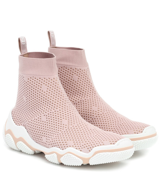RED (V) RED (V) sock sneakers in pink