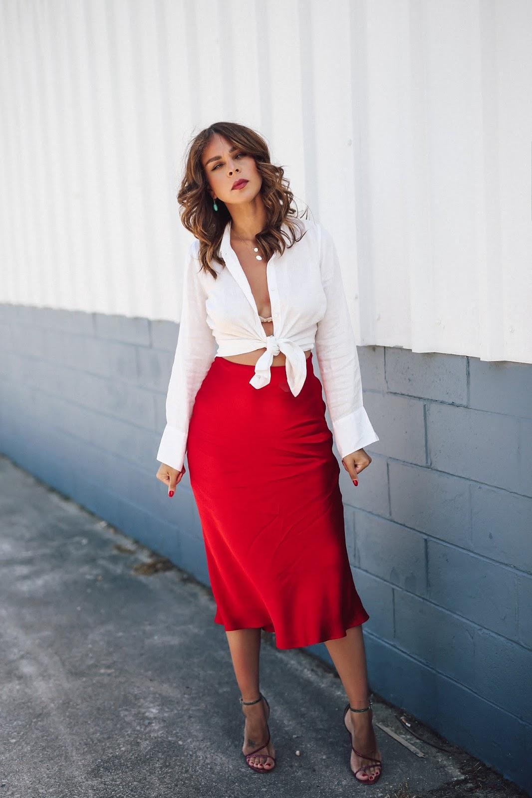 fashionbananas blogger shirt skirt shoes