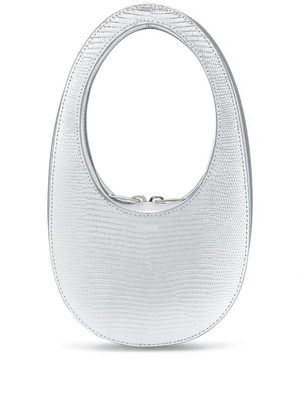 Coperni sculpted tote bag in silver