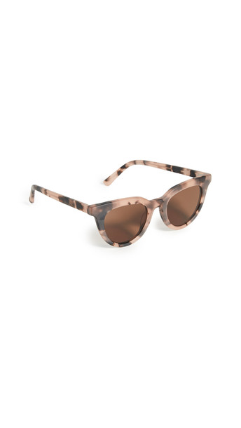 Madewell Annie Winged Sunglasses in pink