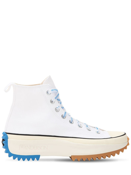 CONVERSE X J.W.ANDERSON Jw Anderson Run Star Hike Hi Sneakers in blue / white