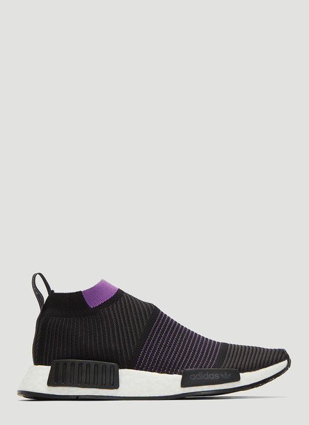 Adidas NMD CS1 Primeknit Sneakers in Black size UK - 04