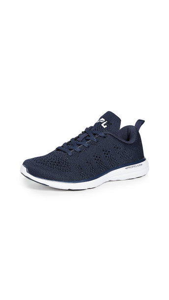 APL: Athletic Propulsion Labs TechLoom Pro Sneakers in midnight / white