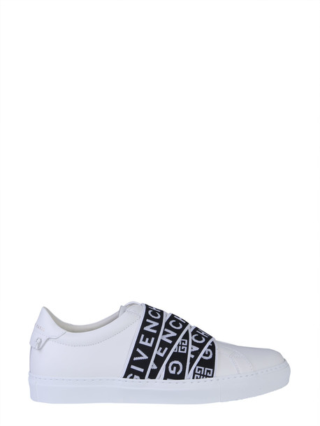 Givenchy Webbing Logo Sneakers in bianco