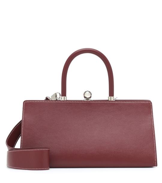 Ratio et Motus Sister leather shoulder bag in red