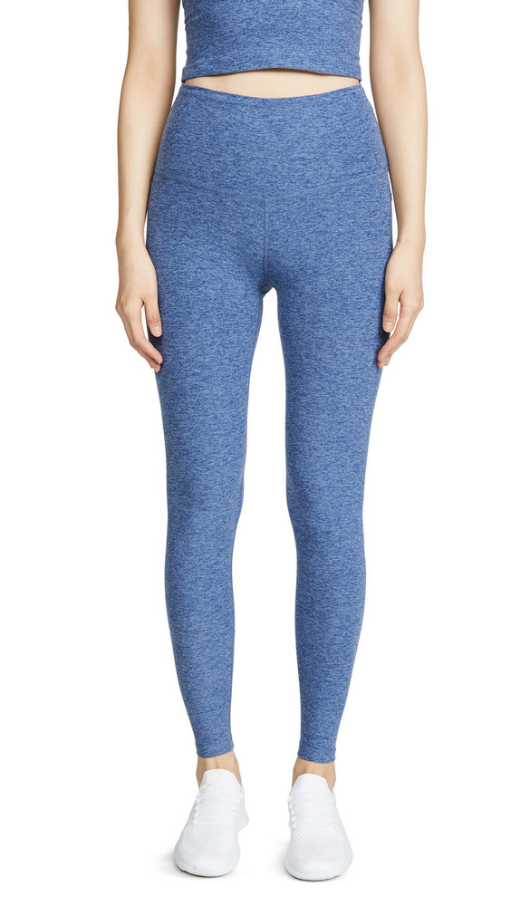 Beyond Yoga Take Me Higher Long Leggings in blue
