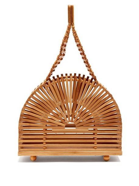 Cult Gaia - Cupola Dome Mini Bamboo Bag - Womens - Tan Multi