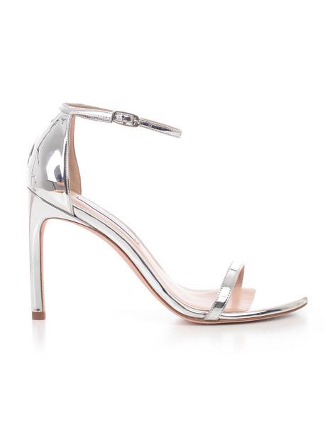 Stuart Weitzman Classy Sandals in silver