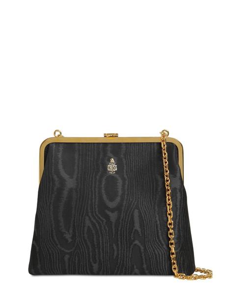 MARK CROSS Susanna Moiré Shoulder Bag in black